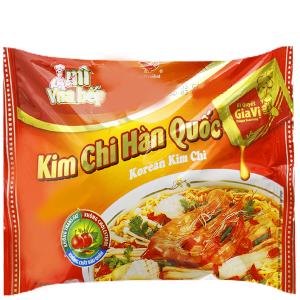 Mì Vua Bếp kim chi Hàn Quốc gói 85g