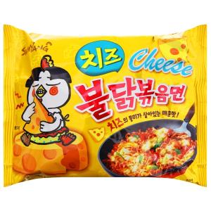 Mì khô gà cay Samyang vị phô mai gói 140g
