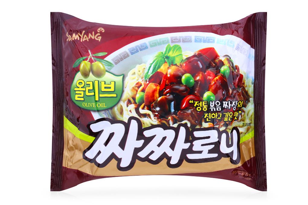 Mì trộn tương đen Samyang gói 140g