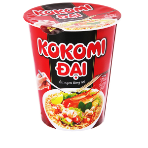 Mì Kokomi Đại tôm chua cay ly 65g