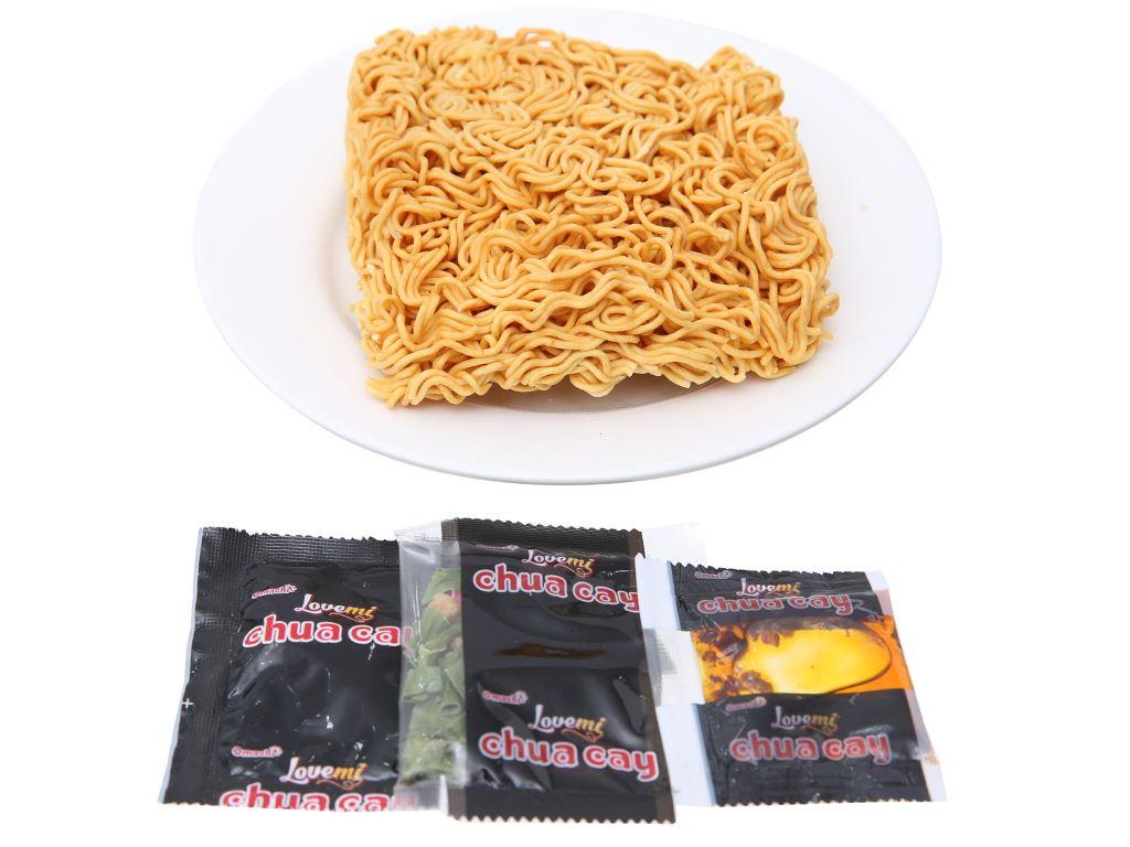 Thùng 30 gói mì Omachi Lovemi tôm chua cay 75g 4