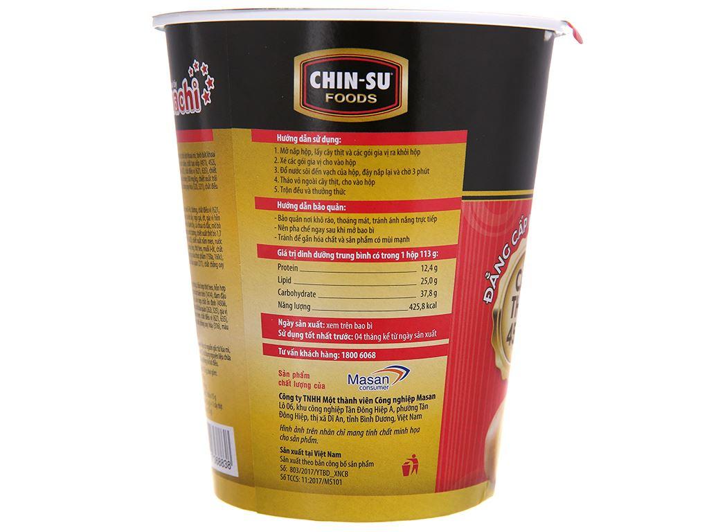 Thùng 24 ly mì khoai tây Omachi xốt bò hầm 113g (có cây thịt thật) 4