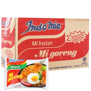 Thùng 40 gói mì xào khô Indomie Mi Goreng vị đặc biệt 85g