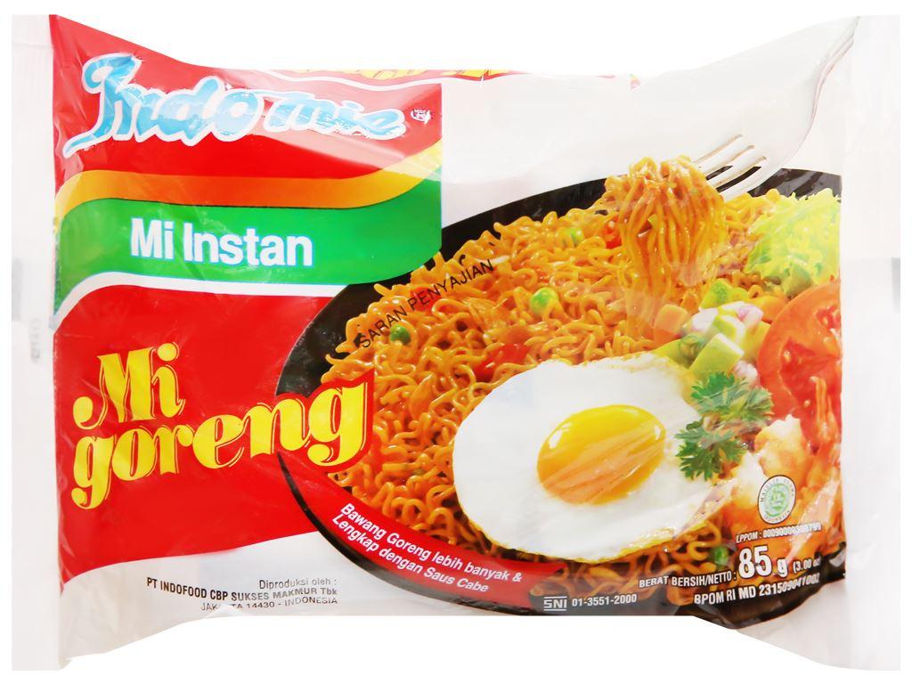 Thùng 40 gói mì xào khô Indomie Mi Goreng vị đặc biệt 85g 5