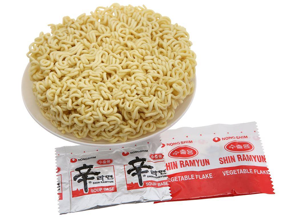 Thùng 40 gói mì cay Nongshim Shin Ramyun 120g 5