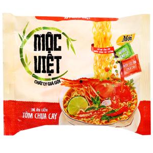 Mì Mộc Việt tôm chua cay gói 75g