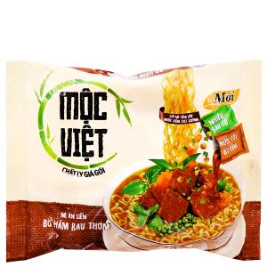 Mì Mộc Việt bò hầm rau thơm gói 75g