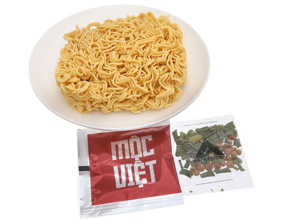 Mì Mộc Việt bò hầm rau thơm gói 75g 4