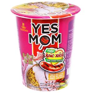Hủ tiếu mì Yes Mom Yes Mom thịt bằm xúc xích ly 76g