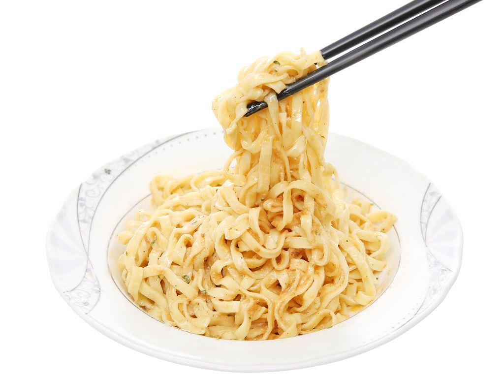 Mì spaghetti Bistro xốt kem phô mai kiểu Ý gói 100g 13