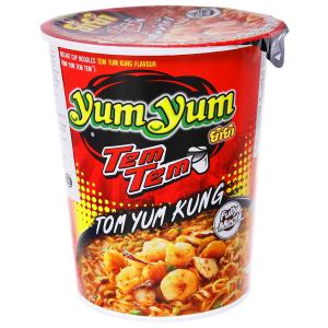 Mì YumYum Tom Yum Kung chua cay nước trong ly 60g