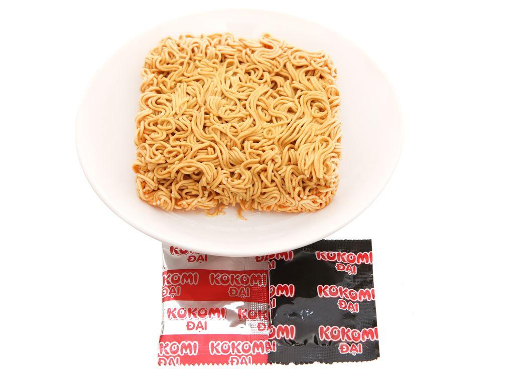 Thùng 30 gói mì Kokomi Đại tôm chua cay 75g 12