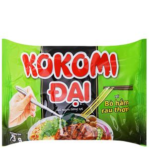 Mì Kokomi Đại bò hầm rau thơm gói 75g