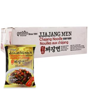 Thùng 16 gói mì trộn Paldo Jjajangmen tương đen 200g