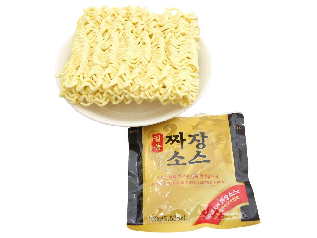 Thùng 16 gói mì trộn Paldo Jjajangmen tương đen 200g 6