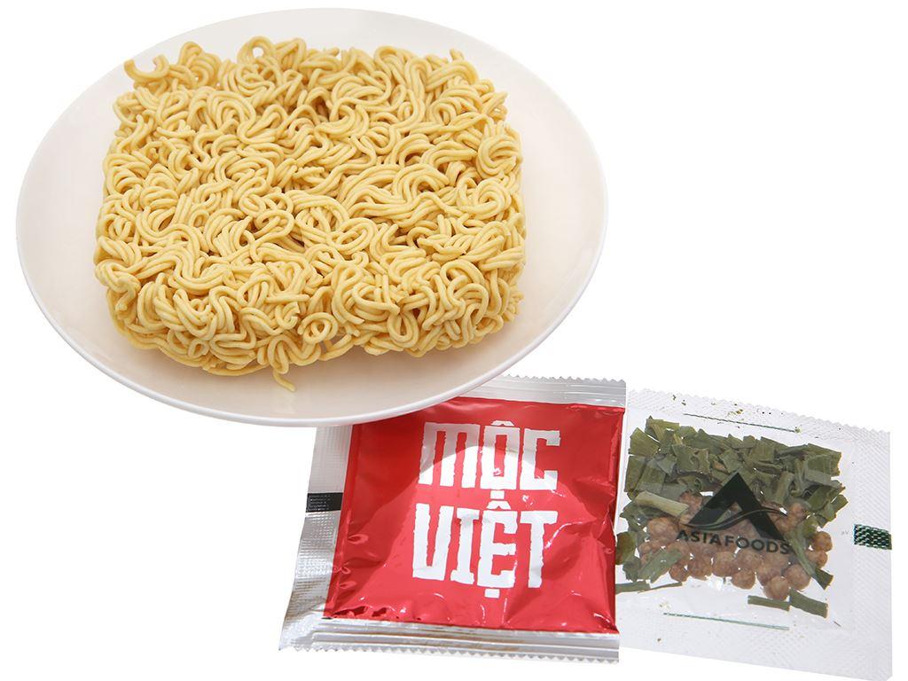 Thùng 30 gói Mì Mộc Việt tôm chua cay 75g 5