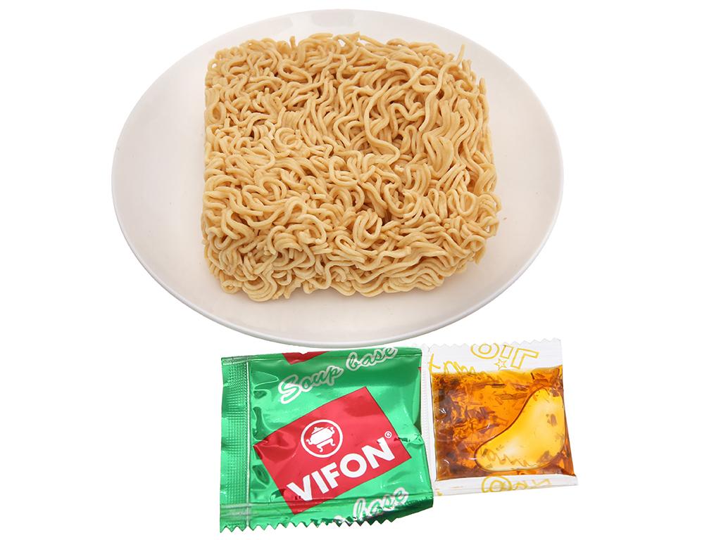Thùng 30 gói mì Vifon chay lẩu Thái 65g 5