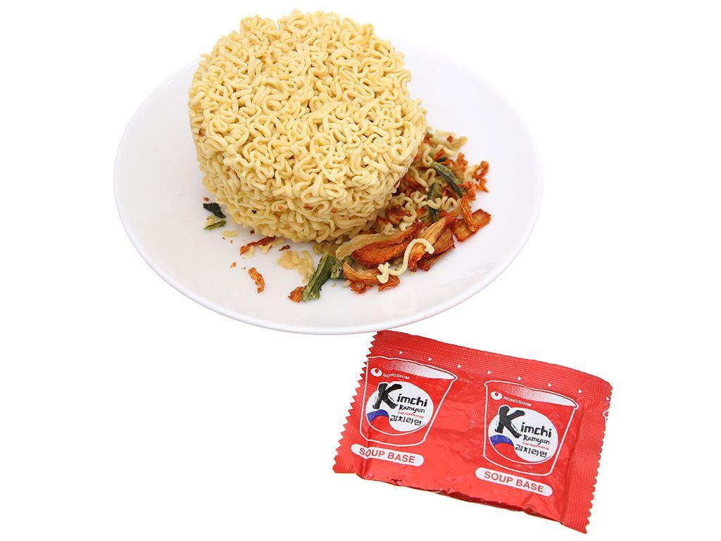 Thùng 12 ly mì Nongshim kimchi ramyun 75g 6
