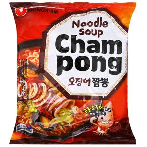 Mì Nongshim Champong hải sản gói 124g