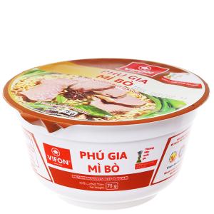 Mì Vifon Phú Gia vị bò tô 75g
