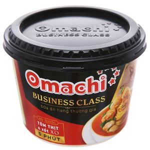 Mì Omachi Business Class tôm thịt và xốt XO hộp 160g