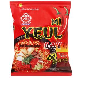 Mì Yeul cay Ottogi gói 120g