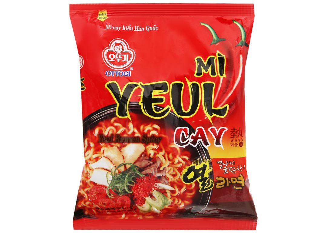 Mì Yeul cay Ottogi gói 120g 1