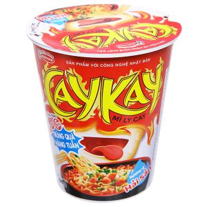 Mì Caykay hải sản ly 66g