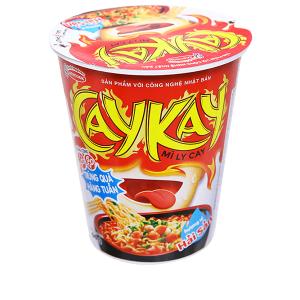 Mì Caykay hương vị hải sản ly 66g