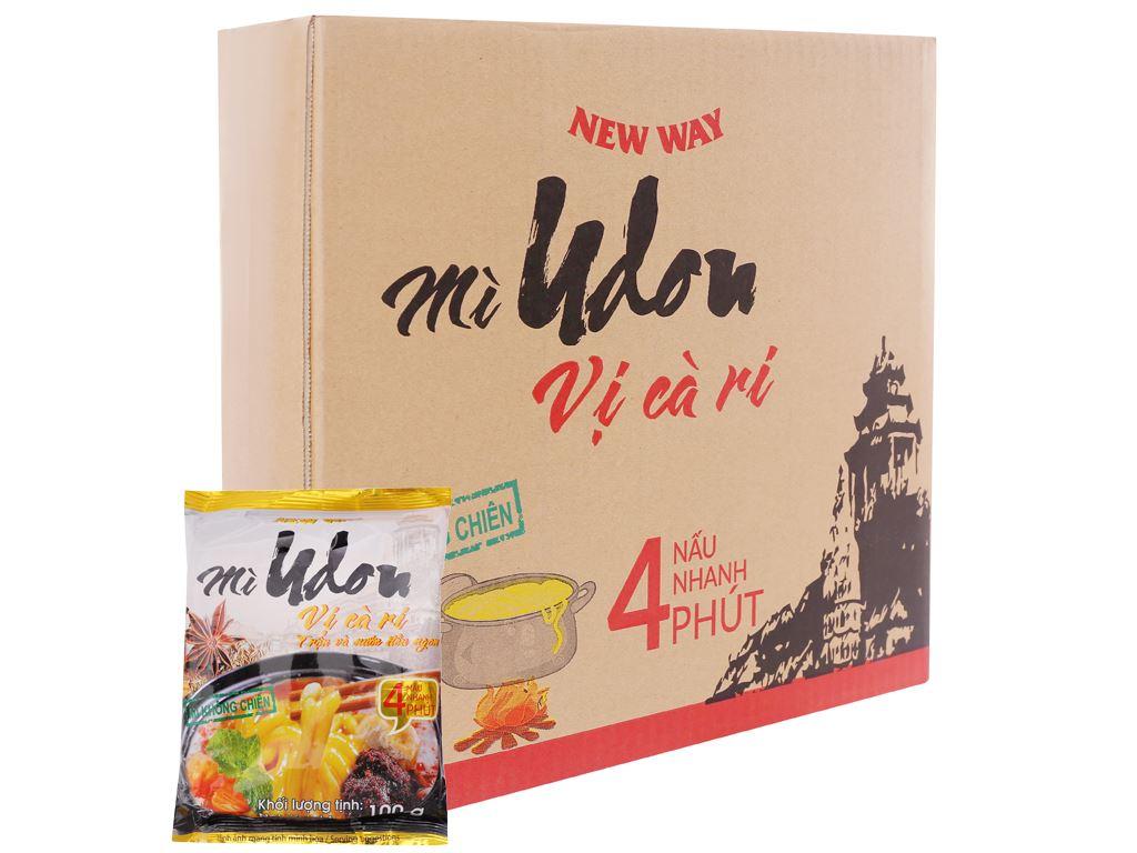 Thùng 30 gói mì udon vị cà ri New Way 100g 1