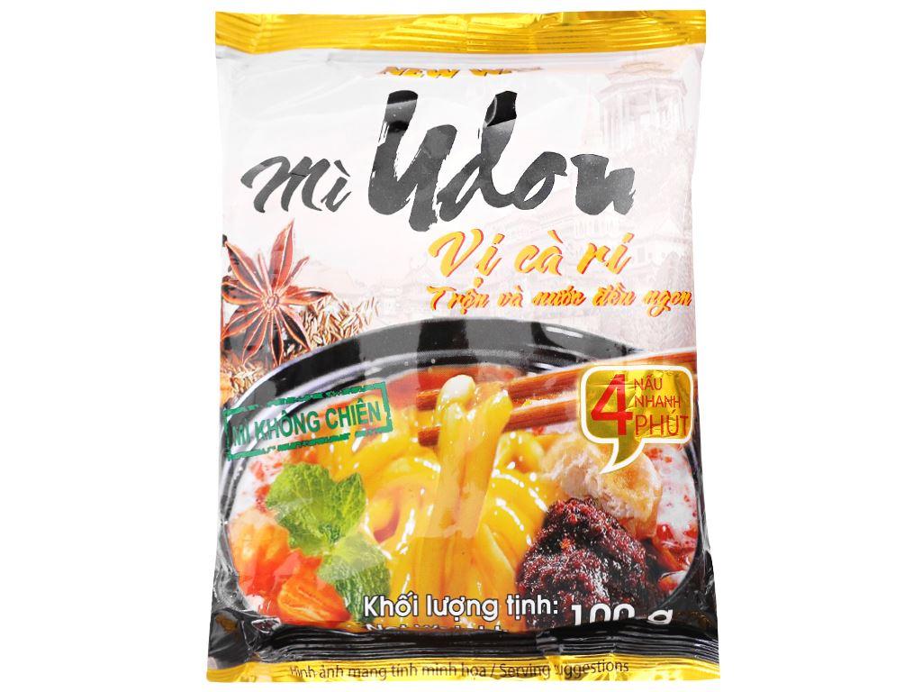Thùng 30 gói mì udon vị cà ri New Way 100g 2
