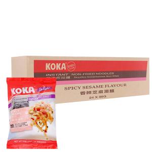 Thùng 24 gói mì KOKA hạt mè 85g