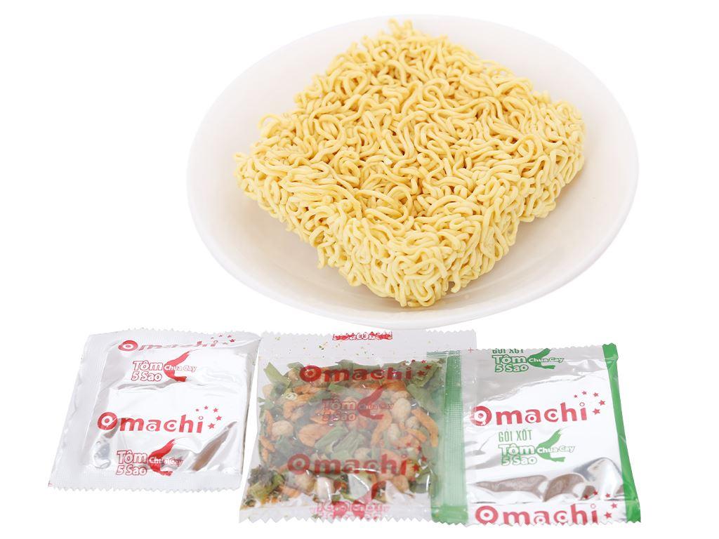 Thùng 30 gói mì khoai tây Omachi tôm chua cay 5 sao 78g 8