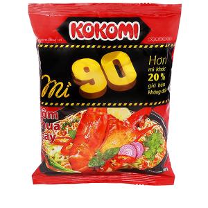 Mì Kokomi 90 tôm chua cay gói 90g