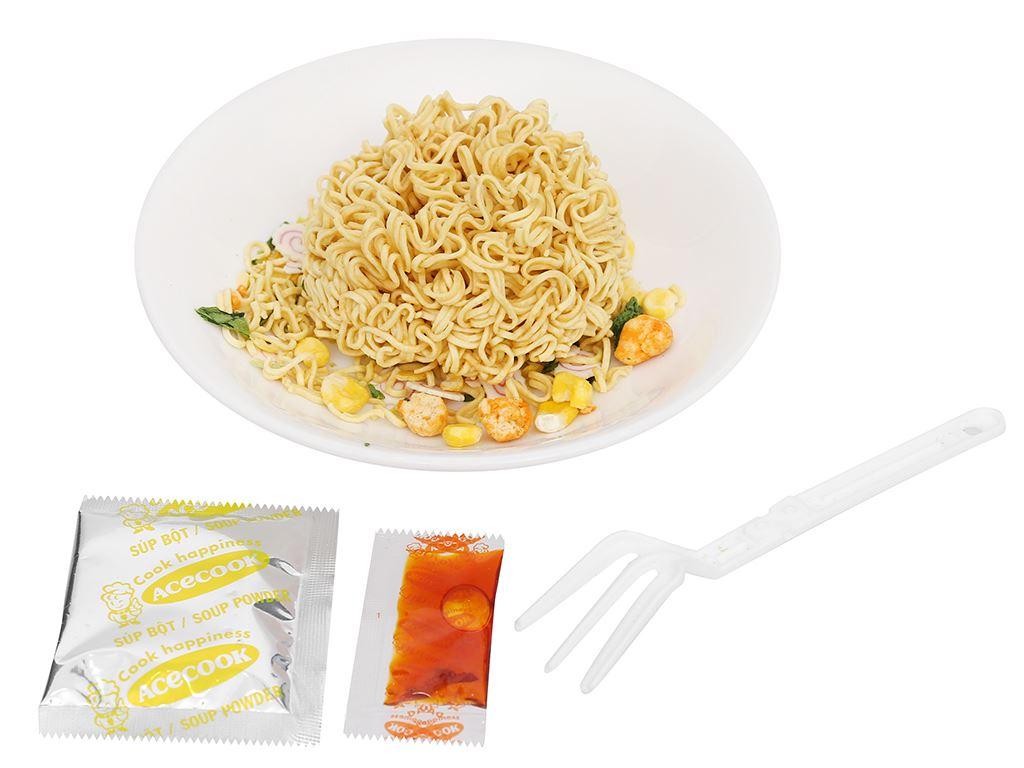 Mì ly mini Doraemon hải sản chua ngọt 53g 7
