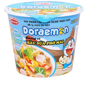 Mì ly mini Doraemon hương vị hàu sữa phô mai 48g