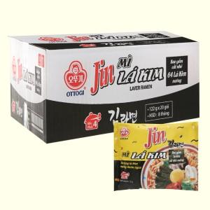 Thùng 20 gói mì lá kim Jin Ottogi 122g