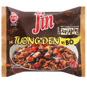 Mì tương đen Jin Ottogi vị bò gói 135g