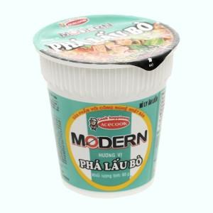 Mì Modern phá lấu bò ly 65g