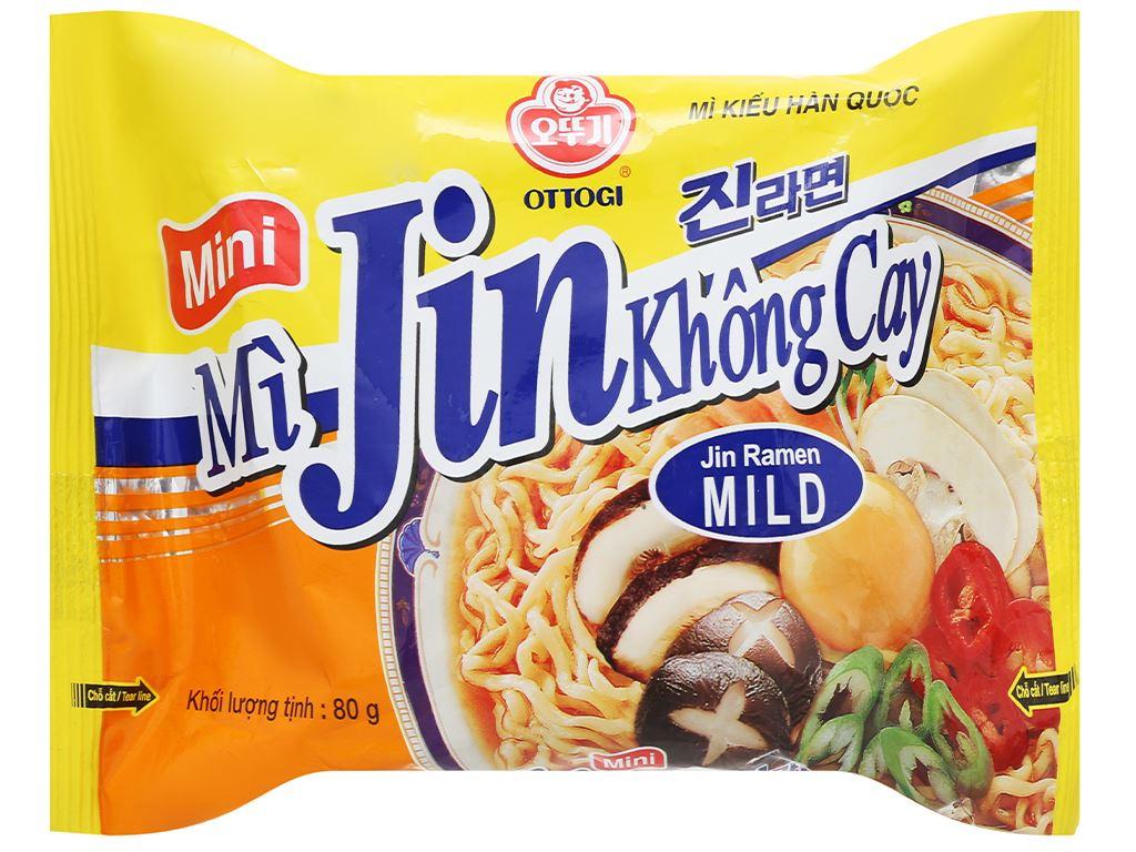 Mì Jin không cay Ottogi Mini gói 80g 1