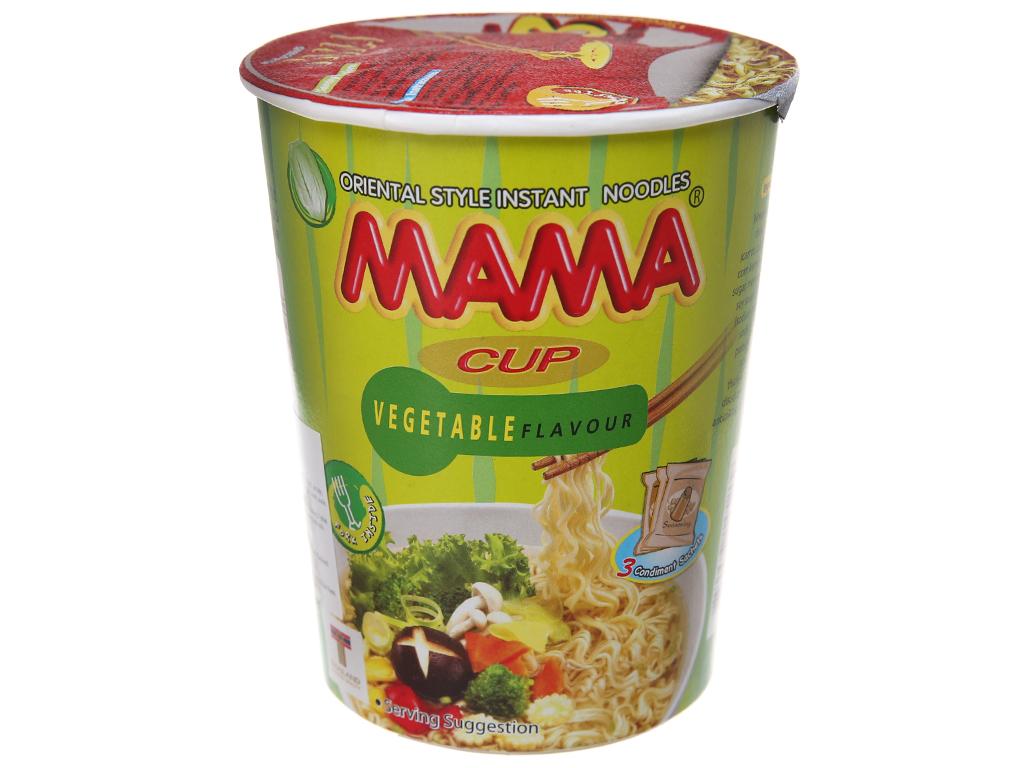 Mì chay Mama hương rau củ ly 60g 2