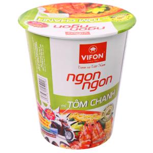 Mì Vifon Ngon Ngon Tôm chanh ly 60g