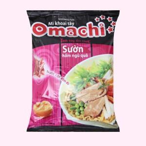 Mì khoai tây Omachi sườn hầm ngũ quả gói 80g