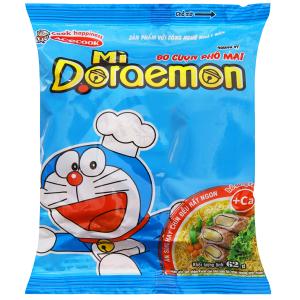 Mì Doraemon bò cuộn phô mai gói 62g