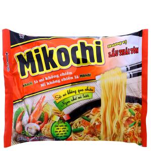 Mì không chiên Mikochi lẩu Thái tôm gói 84g
