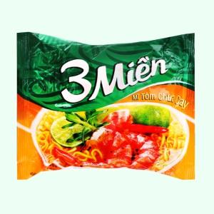 Mì 3 Miền tôm chua cay gói 65g