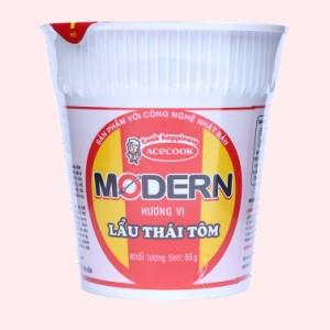 Mì Modern lẩu Thái tôm ly 65g