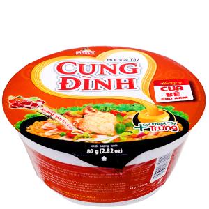 Mì khoai tây Cung Đình cua bể rau răm tô 80g