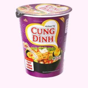 Mì khoai tây Cung Đình thịt hầm nấm ly 65g