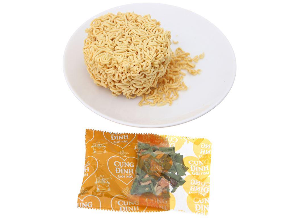 Mì khoai tây Cung Đình vị gà hầm ly 65g 9